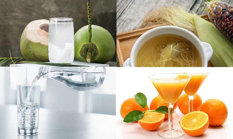 Một số loại đồ uống tốt cho người bệnh sỏi thận