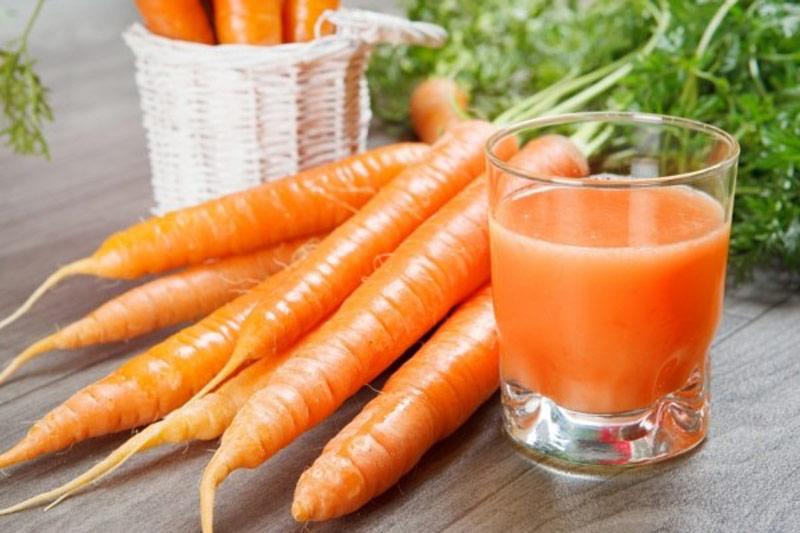 Các món ăn từ cà rốt và nước ép cà rốt giúp cường dương, kéo dài thời gian quan hệ