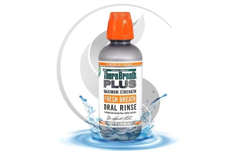 Thuốc chữa hôi miệng Therabreath Plus giúp cải thiện các cảm giác vị khác khó chịu