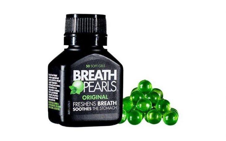 Breath Pearls - sản phẩm giúp cải thiện mùi hương trong miệng