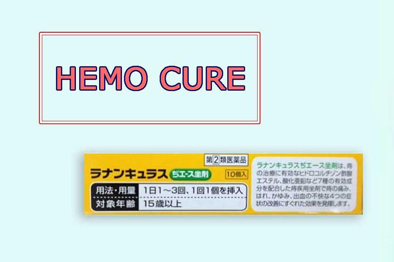 Muốn đẩy nhanh quá trình khỏi bệnh, bạn có thể sử dụng Hemo cure