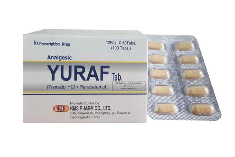 Yuraf là loại thuốc được dùng thay thế Salicylat cho bệnh nhân không dung nạp Salicylat