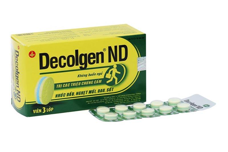 Decolgen là loại thuốc giảm đau, hạ sốt được chỉ định để điều trị cảm cúm, viêm mũi dị ứng