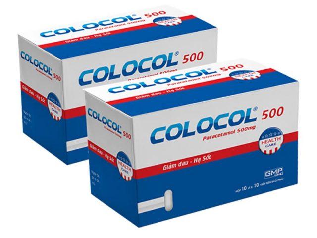 Thành phần chính của thuốc đau đầu này là Paracetamol và Cafein