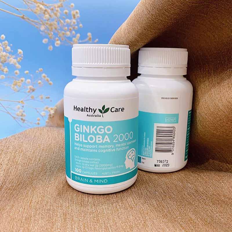 Healthy Care Ginkgo Biloba chỉ sử dụng cho trẻ em trên 15 tuổi và người trưởng thành
