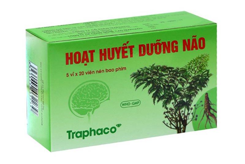 Viên uống Hoạt Huyết Dưỡng Não có giá 94.000 vnđ/ hộp