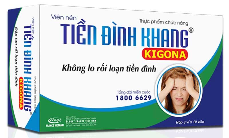 Tiền Đình Khang là thuốc Đông y chữa trị rối loạn tiền đình