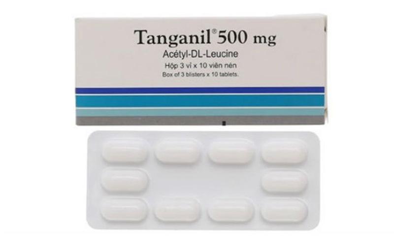 Thành phần chính của Tanganil là hoạt chất Acetyl-DL-Leucine