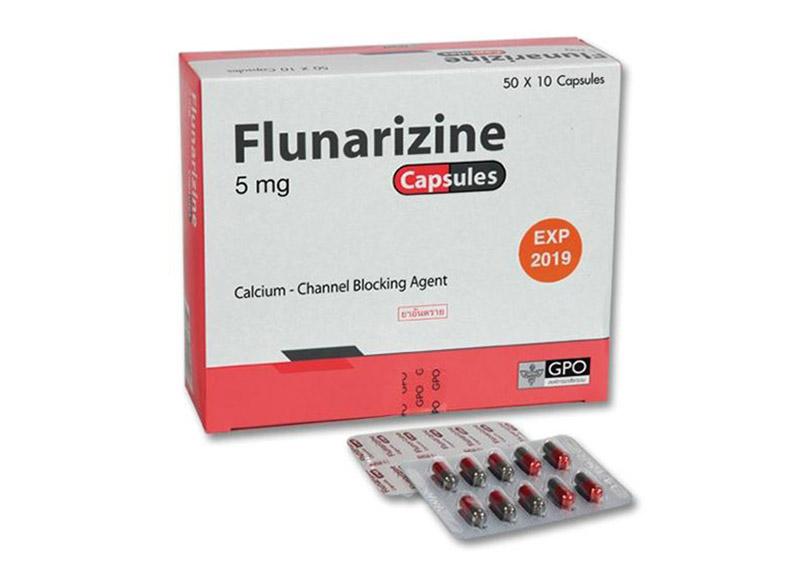 Liều ban đầu là sử dụng 2 viên Flunarizine/ngày trước khi đi ngủ