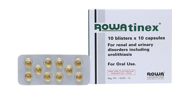 Thuốc sỏi thận Nhật Bản Rowatinex giúp tống xuất sỏi ra khỏi cơ thể nhanh chóng