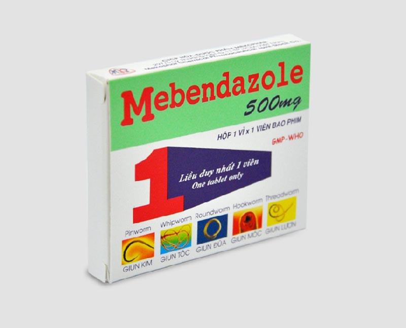Thuốc tẩy giun Mebendazol cũng là một sản phẩm được ưa chuộng trên thị trường