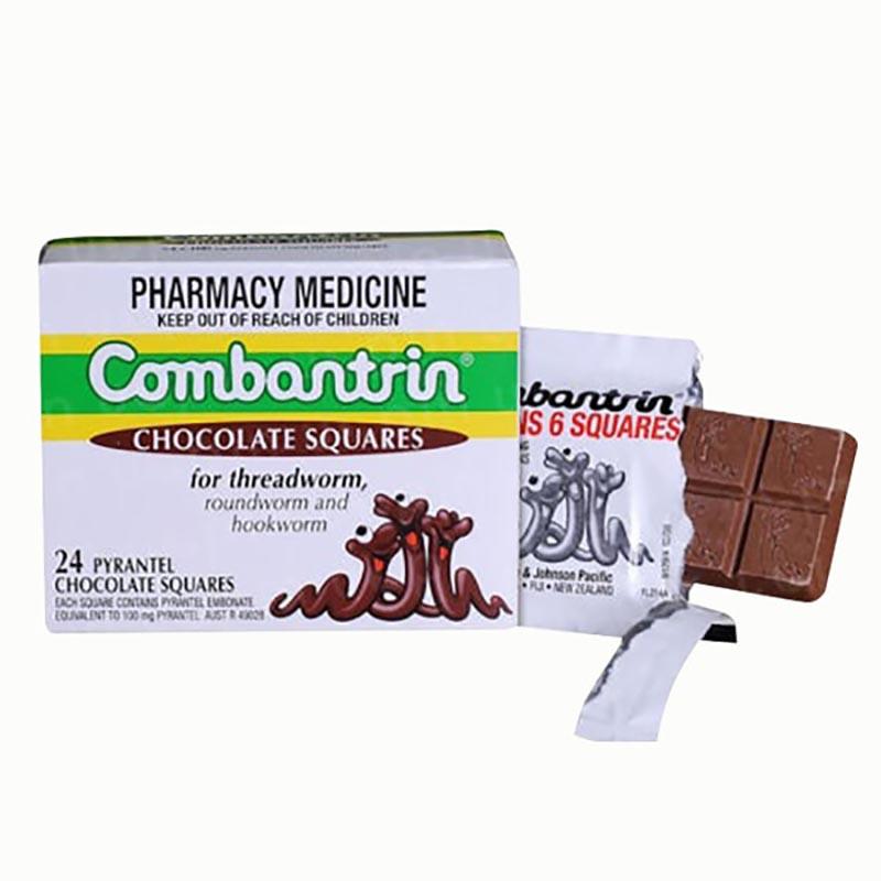 Thuốc tẩy giun Combantrin được nhập khẩu từ Úc, đặc biệt phù hợp khi dùng cho trẻ em