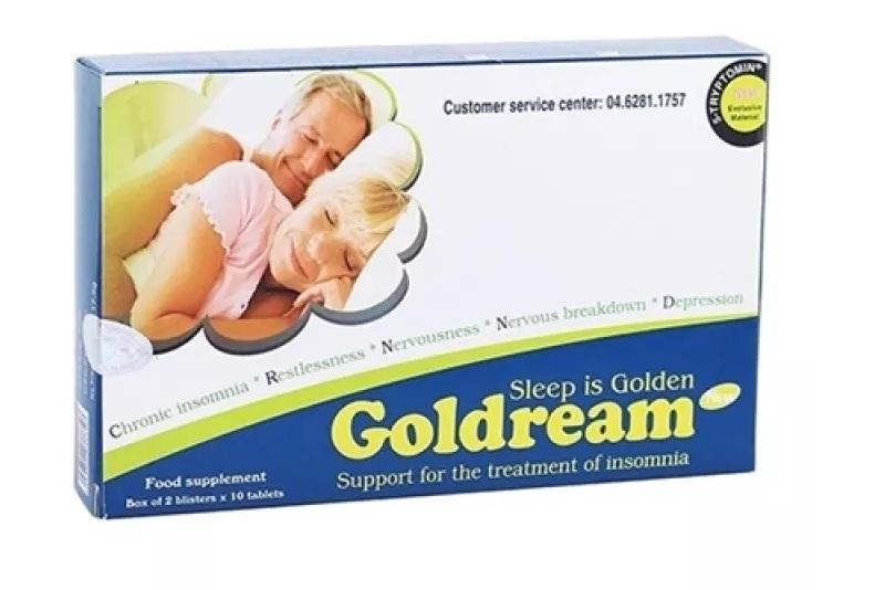 Viên uống Gold Dream là giải pháp hiệu quả cho người bị mất ngủ lâu năm