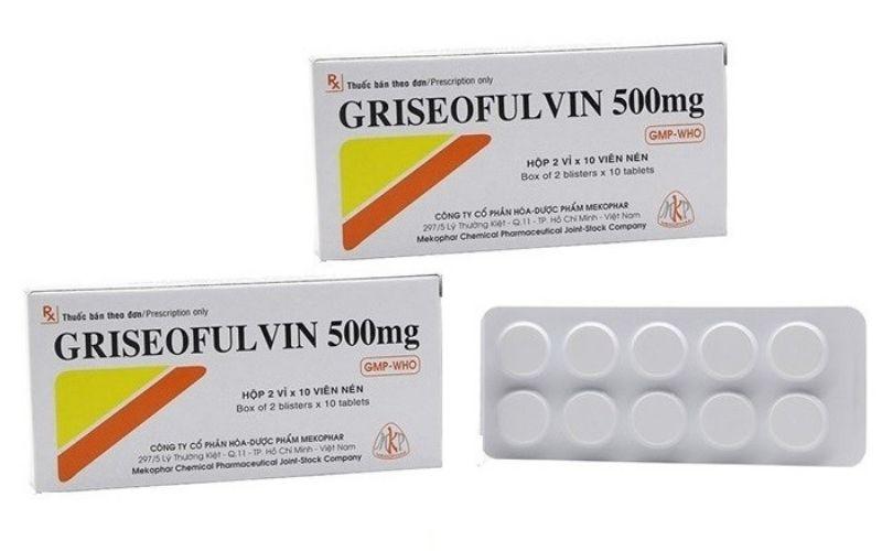 Griseofulvin là sản phẩm trị nấm da được nhiều người sử dụng