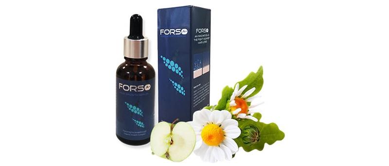 Thuốc tị rụng tóc Forso A+ rất phù hợp với cơ địa người Việt