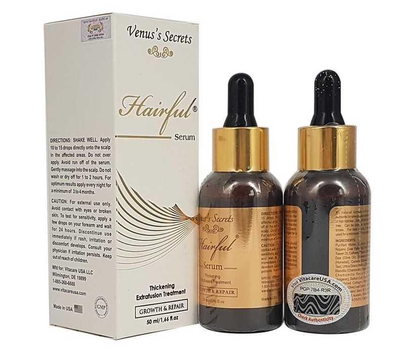 Hairful Serum bổ sung hơn 20 thành phần dưỡng chất cho mái tóc khỏe đẹp