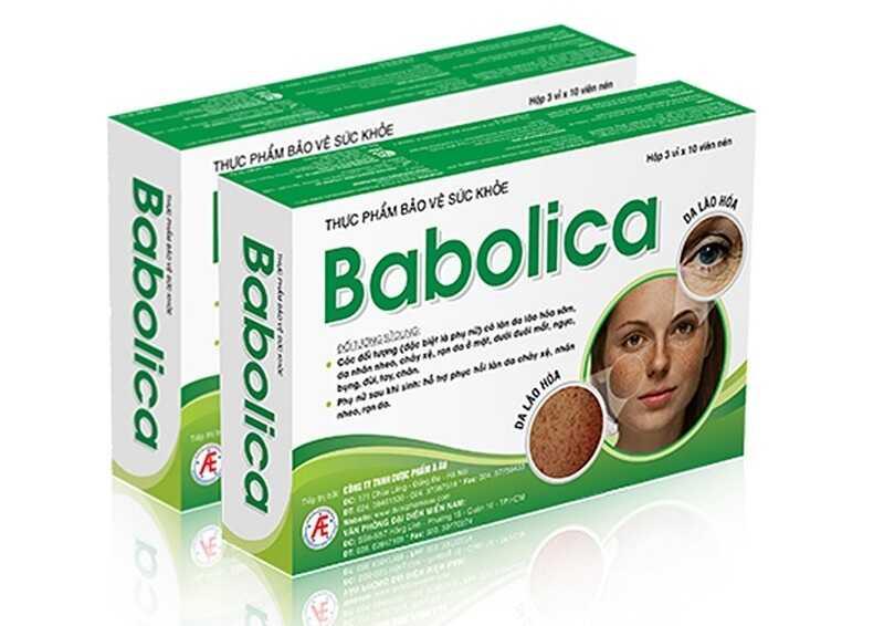 Babolica giúp làn da trẻ hóa, hết nám tàn nhang