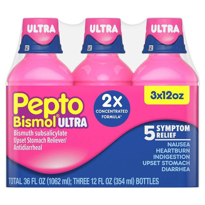 Khắc phục tình trạng tiêu chảy với Pepto-Bismol