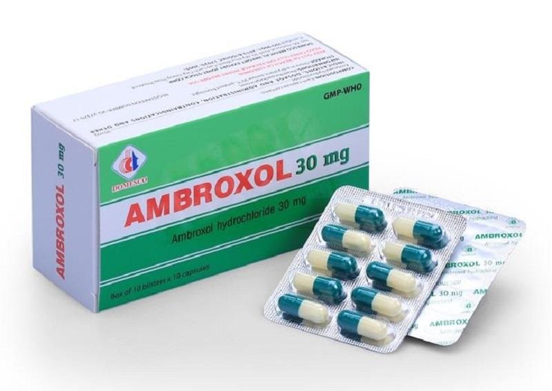 Thuốc Ambroxol có công dụng hỗ trợ quá trình long đờm cho trẻ
