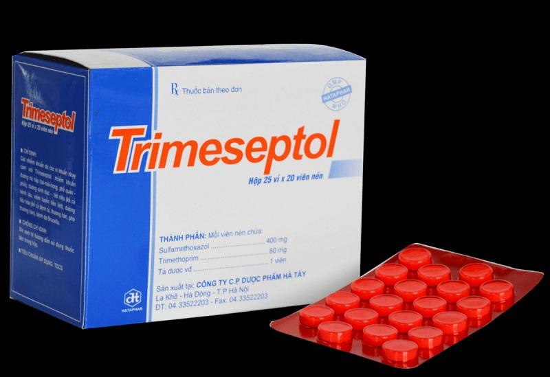 Thuốc chữa viêm đường tiết niệu ở nữ Trimethoprim