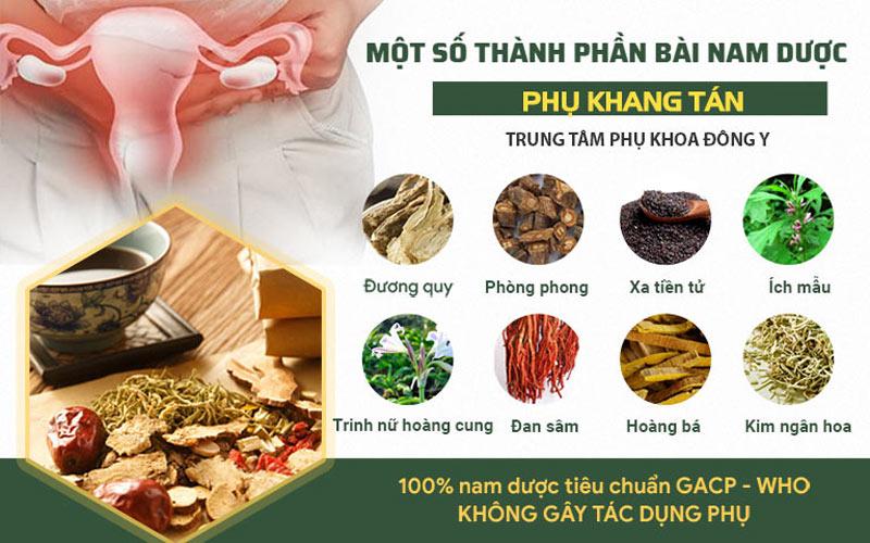 Một số vị thuốc chính trong Phụ Khang Tán