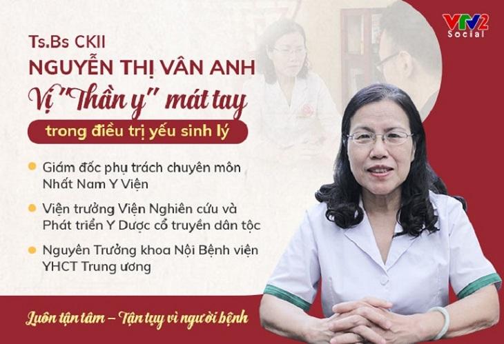 Bác sĩ Nguyễn Thị Vân Anh - người đi đầu trong việc tìm kiếm các bài thuốc quý từ Thái Y Viện
