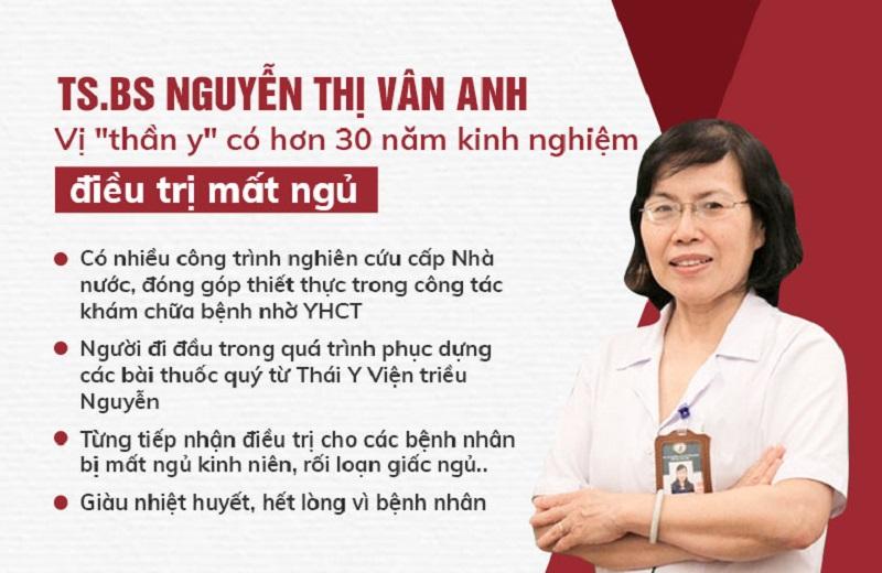 Bác sĩ Nguyễn Thị Vân Anh nói về bệnh mất ngủ và giải pháp điều trị