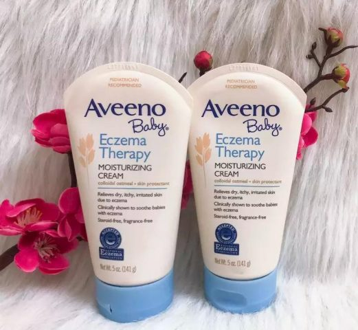 Sản phẩm Aveeno Baby Eczema Therapy Moisturizing Cream