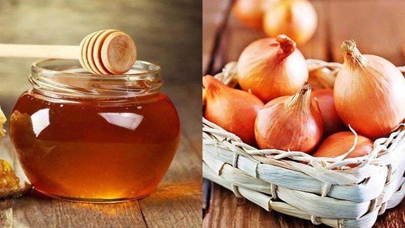 Hành tây và mật ong nếu sử dụng đúng cách và đúng liều lượng sẽ gia tăng hiệu quả trị ho