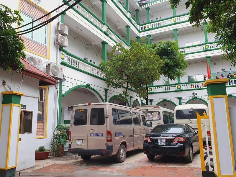 Bệnh viện khang trang và rộng rãi
