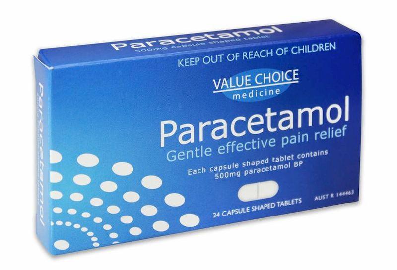 Paracetamonl là thuốc giảm đau nhanh chóng do tràn dịch khớp gối gây ra