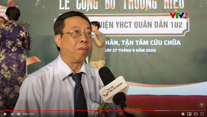 Thầy thuốc ưu tú, BSCKII Lê Hữu Tuấn nhận định về phương pháp khám chữa thoát vị đĩa đệm Quân dân 102
