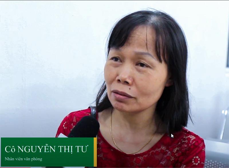 bệnh nhân Nguyễn Thị Tư từng điều trị viêm phụ khoa tại Trung tâm Phụ Khoa Đông y