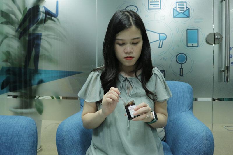 Chị Châu dùng bài thuốc nam Đỗ Minh Đường trong thời gian mang thai