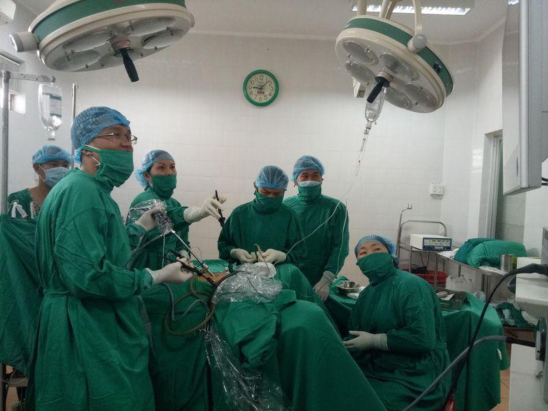 Nội soi là phương pháp điều trị tiên tiến nhất hiện nay