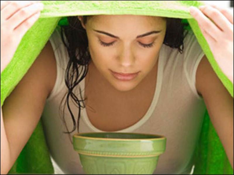 Xông hơi bằng lá tần dày cải thiện tình trạng ho hiệu quả