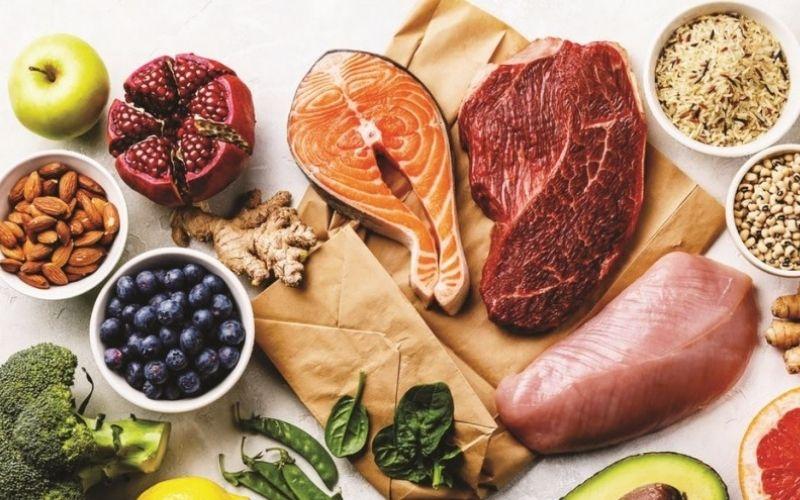Chế độ ăn uống quyết định chính đến kết quả tăng cân