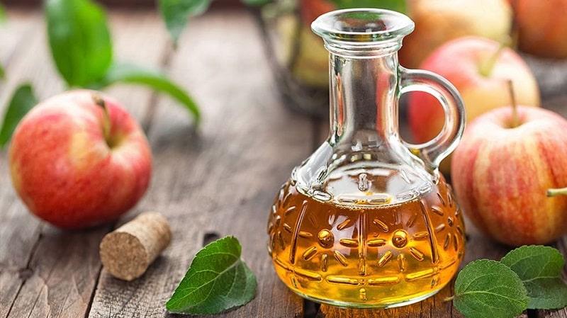 Giấm táo cũng có hiệu quả điều trị tốt