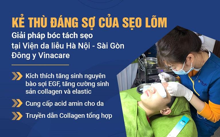 Viện Da liễu áp dụng thành công kỹ thuật bóc tách chân sẹo giúp hàng nghìn người lấy lại làn da sáng mịn
