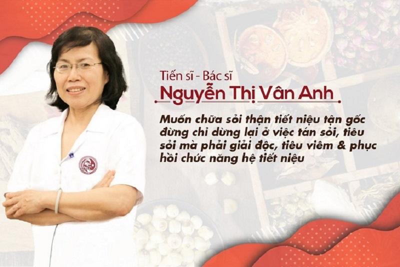 Bác sĩ Nguyễn Thị Vân Anh phân tích cơ chế điều trị sỏi
