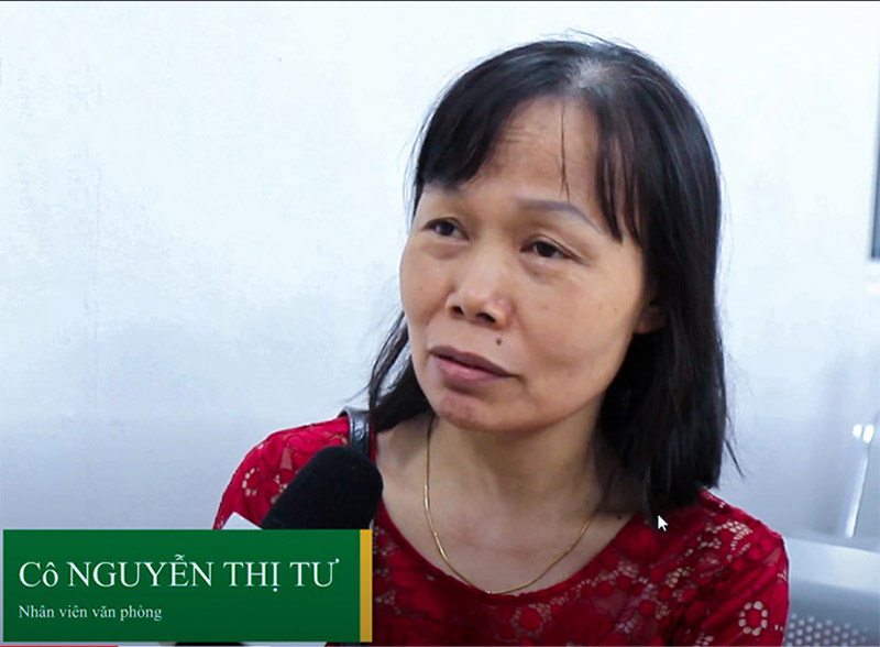 Cô Nguyễn Thị Tư từng điều trị tại Trung tâm Phụ khoa Đông y Việt Nam