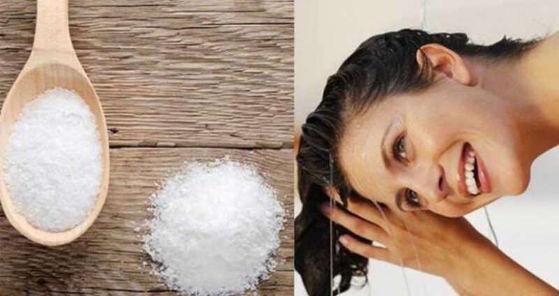 Muối cũng là cách trị gàu hiệu quả, nhanh chóng cho phái đẹp