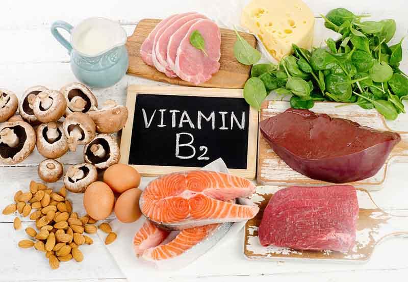 Bổ sung vitamin B2 từ thực phẩm là biện pháp đơn giản nhất