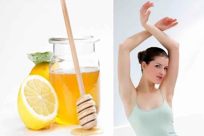 Sử dụng mật ong và chanh là cách được nhiều chị em lựa chọn