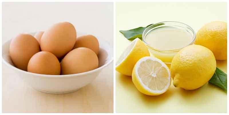Chanh và trứng gà tạo ra một hỗn hợp waxing để loại bỏ vi-o-long nhanh chóng