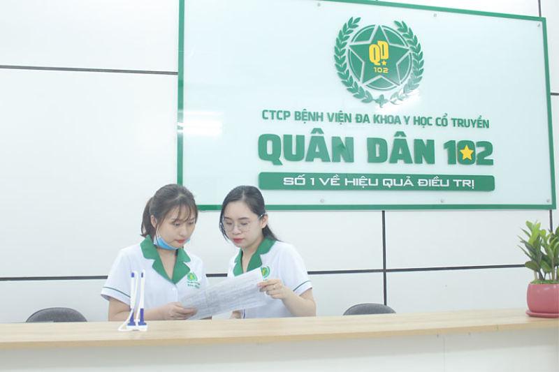 Tổ hợp y tế Quân dân 102 chuyên khám chữa và điều trị mề đay an toàn cho trẻ