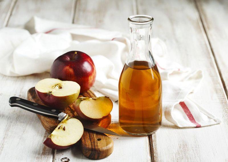 Giấm táo có tác dụng ngăn ngừa vi khuẩn phát triển ở cổ họng