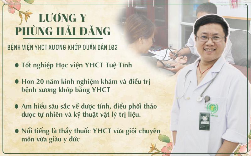 Lương y Phùng Hải Đăng - Thầy thuốc điều trị trực tiếp cho ông Nhiếp