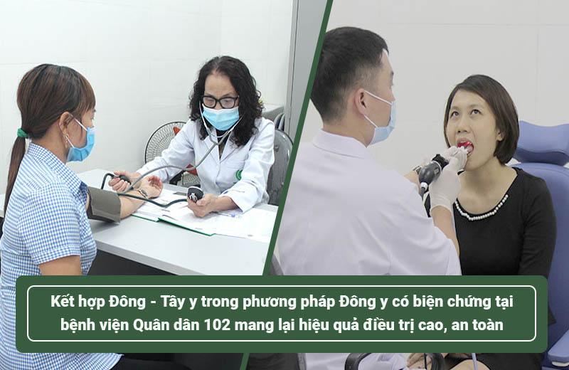 Kết hợp đông -tây y trong phương pháp Đông y có biện chứng