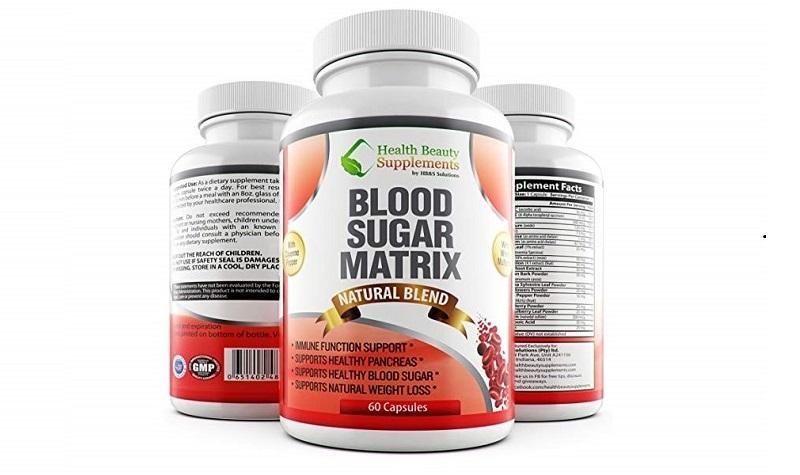 Thuốc trị tiểu đường Blood sugar matrix của Mỹ